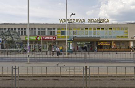 Dworzec Warszawa Gdańska