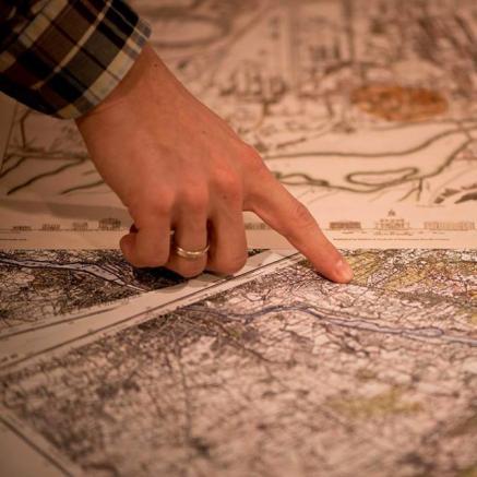 Palcem po mapie - warsztaty
