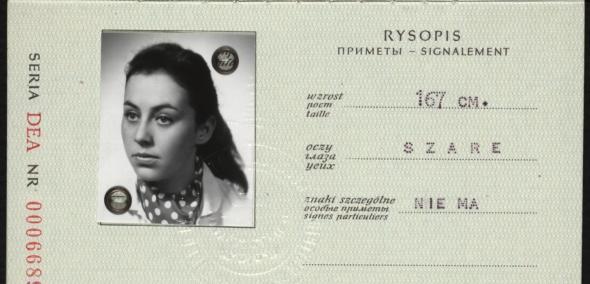 Anna Trachtenherc, dokument podróży, Marzec '68, spacer, świadek historii