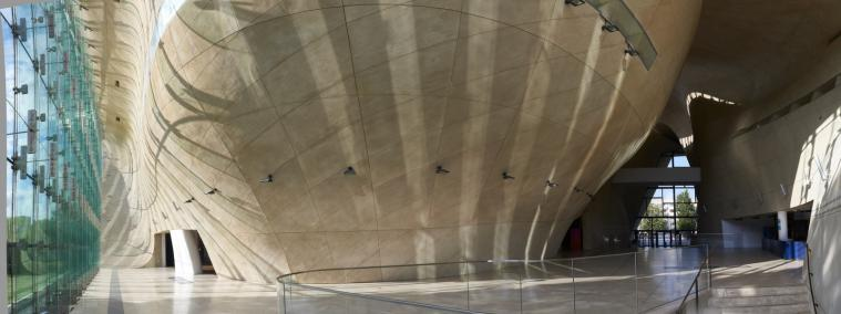 Muzeum POLIN, hol główny, Centrum Konferencyjne