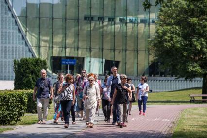 Warszawa Ireny Sendlerowej, spacer, Muzeum POLIN