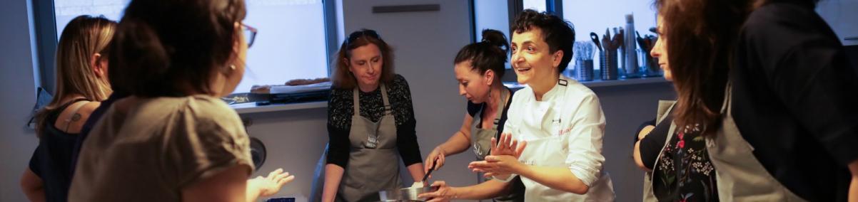 Alessia do Donato, warsztaty kulinarne, kuchnia Marche
